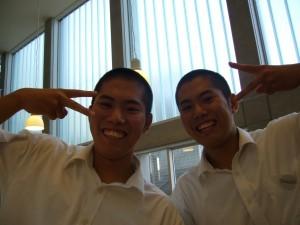 Japanese high school boys