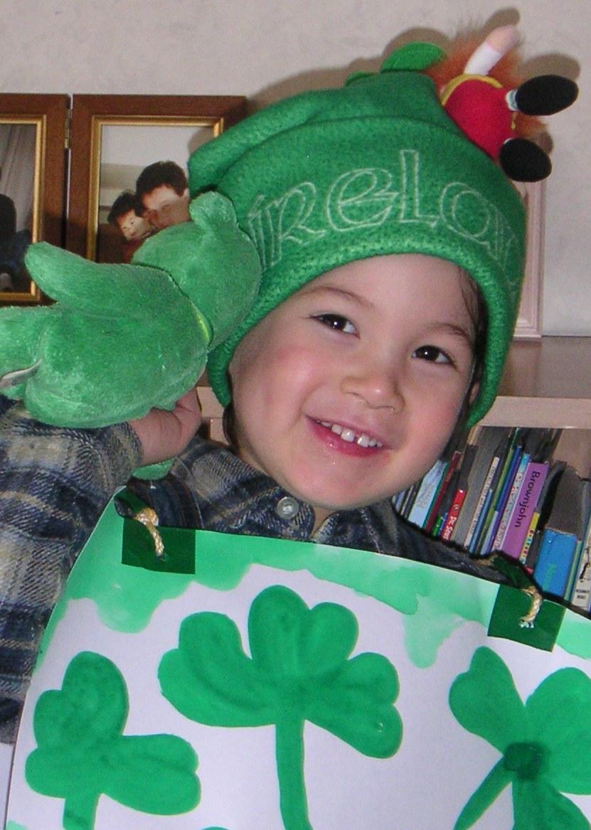 St. Patrick Happy