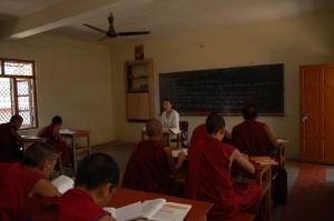 Anna-Teaching-Class-VIII