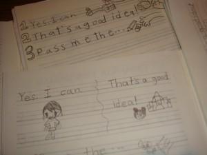 Notebook practice