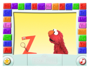 Elmo on iPad