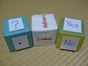 cubes as prompts