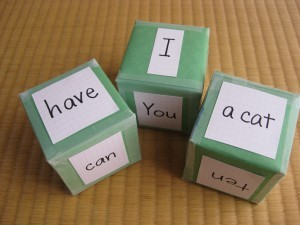 cubes for phonics