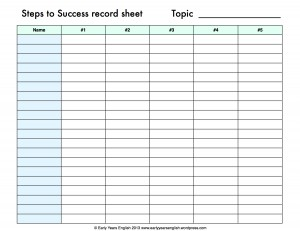 steps_to_success_record_sheet