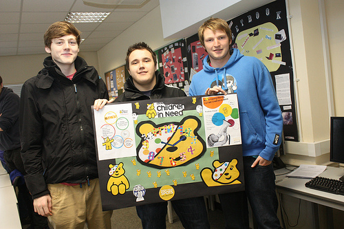 children in need (Central Sussex College)