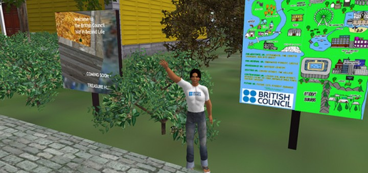 British Council Island in Second Life