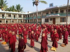 School assembly – Sera Mey school