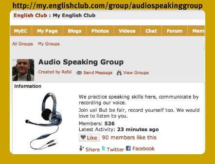 Audio Speaking Group