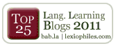 Top 25 Language Learning Blogs 2011