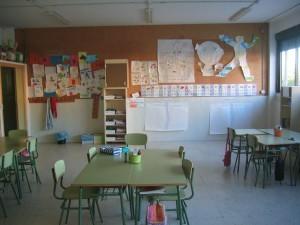 Conchi's classroom