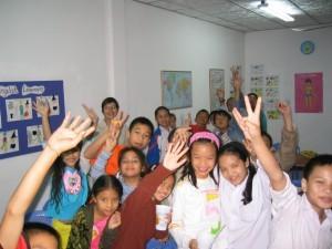 Conchi's students
