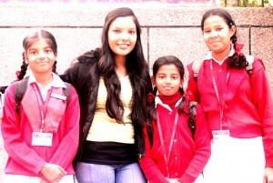 Shrishti and students