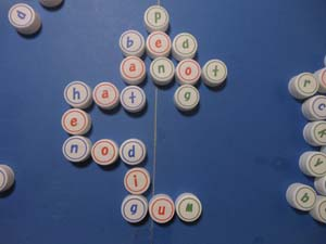bottle cap scrabble