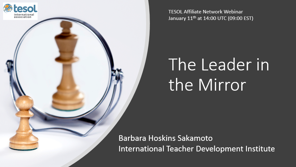 The leader in the mirror webinar